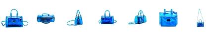 LIKE DREAMS Clear Chain Barrel Handbag