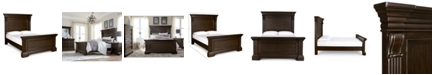 Furniture Closeout! Carlisle Queen Panel Bed
