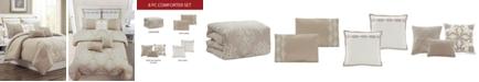Hallmart Collectibles  Vilette 8-Pc. King Comforter Set