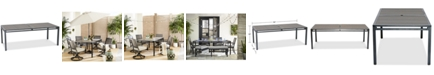 """Furniture Aluminum 84"""" x 42"""" Outdoor Dining Table, Created for Macy's"""