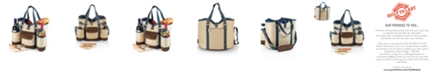 Picnic Time Legacy® by Wine Country Tote – Wine & Cheese Picnic Tote