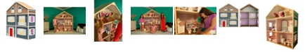 My Girl Dollhouses My Girls 6 Foot Tall Dollhouse For 18 Inch Dolls Country French Style