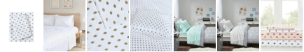 Intelligent Design Metallic Dot Twin XL Printed Sheet Set