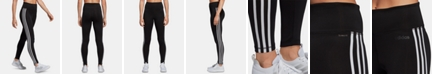 adidas Design 2 Move ClimaLite® High-Rise 3-Stripe Leggings