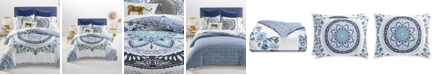 Martha Stewart Collection Traveler Medallion Comforter Sets, Created for Macy's
