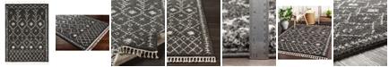 Surya Berber Shag BBE-2308 Charcoal 2' x 3' Area Rug