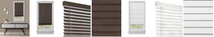 "Achim Cordless GII Madera Falsa 2"" Faux Wood Plantation Blind,  29x64"