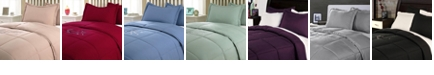 Epoch Hometex inc Lotus Home Water and Stain Resistant Comforter Mini Set Collection