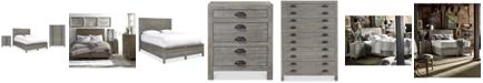Furniture Broadstone Storage Bedroom Furniture, 3-Pc. Set (King Bed, Chest & Nightstand)
