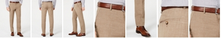 Lauren Ralph Lauren Men's Classic-Fit UltraFlex Stretch Light Brown Textured Suit Pants