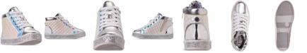 Steve Madden Little Girls' JCaffire Hi-Top Casual Sneakers from Finish Line