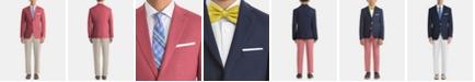 Lauren Ralph Lauren Men's UltraFlex Classic-Fit Red/Tan Linen Suit Separates