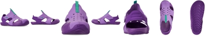 Nike Little Girls' Sunray Adjust 5 Sandals from Finish Line