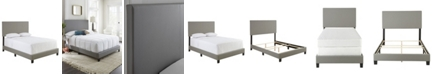 Ultima Carson Full Faux Leather Upholstered Platform Bed Frame