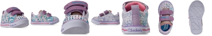 Skechers Toddler Girls' Twinkle Toes: Sparkle Lite - Sparkle Scribble Light-Up Casual Sneakers from Finish Line