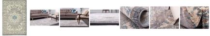 Bridgeport Home Bellmere Bel2 Gray 6' x 9' Area Rug