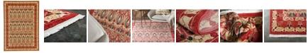 Bridgeport Home Orwyn Orw3 Red/Beige 7' x 10' Area Rug