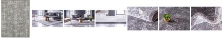 Bridgeport Home Wisdom Wis6 Dark Gray 9' x 12' Area Rug