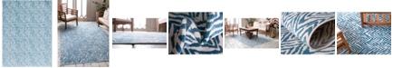 Bridgeport Home Pashio Pas8 Blue 9' x 12' Area Rug