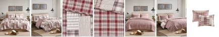 Madison Park Montana Full/Queen 3-Piece Reversible Patchwork Coverlet Set
