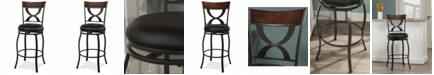 Hillsdale Stockport Swivel Counter Height Stool