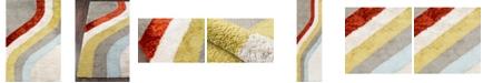 "Novogratz Collection Novogratz Retro Ret-6 Multi 5' x 7'6"" Area Rug"