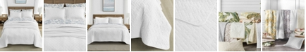 Tommy Bahama Home Tommy Bahama Solid White Quilt Set, Twin
