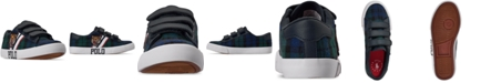 Polo Ralph Lauren Little Boys Edgewood EZ Stay-Put Closure Casual Sneakers from Finish Line