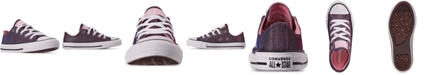 Converse Little Girls Chuck Taylor Ox Space Star Casual Sneakers from Finish Line