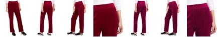 Karen Scott Sport Velour Pants, Created for Macy's
