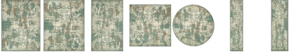 Bridgeport Home Tabert Tab1 Green Area Rug Collection