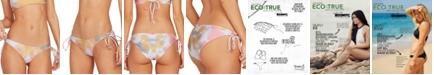 Volcom Juniors' Tie-Dye Printed Side-Tie Bikini Bottoms