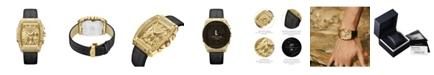 Jbw Men's Echelon Diamond (1/4 ct. t.w.) Watch in 18k Gold-plated Stainless Steel 41mm