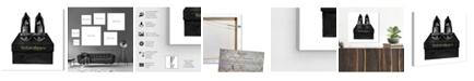 "Oliver Gal Elegant Ones Canvas Art, 16"" x 16"""