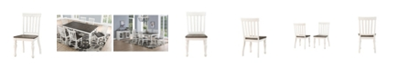 Furniture Judd Two Tone Dining Side Chair