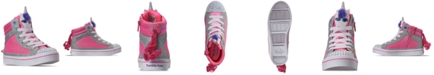 Skechers Little Girls Twinkle Toes Twi-Lites Unicorn Pal High Top Casual Sneakers from Finish Line
