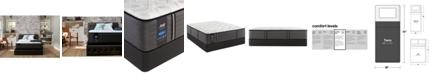 "Sealy Premium Posturepedic Exuberant 13"" Cushion Firm Mattress Set- Twin"
