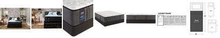 "Sealy Premium Posturepedic Exuberant 12.5"" Ultra Firm Mattress Set- Twin"