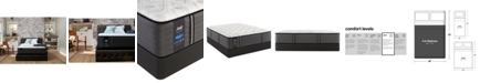"""Sealy Premium Posturepedic Exuberant 14.5"""" Plush Mattress Set- Full"""