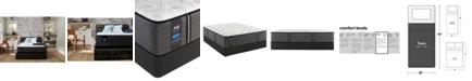 "Sealy Premium Posturepedic Exuberant 14.5"" Plush Mattress Set- Twin"