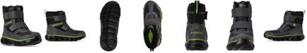 Skechers Little Boys S Lights Hypno-Flash 2.0 Street Breeze Light Up Adjustable Strap Boots from Finish Line
