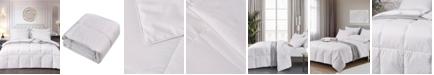 Elle Decor Light Warmth White Down Fiber Comforter, Full/Queen