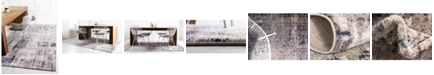 Jill Zarin Gramercy Downtown Jzd001 Multi 9' x 12' Area Rug