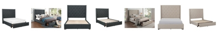 Furniture Ordway Bed w/ Storage Drawers - Full