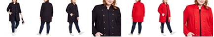 Tommy Hilfiger Plus Size Band Jacket