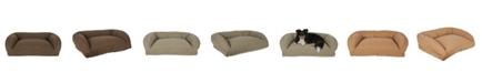 Carolina Pet Company Quilted Microfiber Bolster Bed