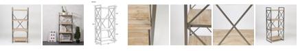 "Luxen Home 54"" Etagere Bookcase"