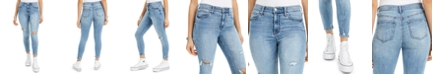 Celebrity Pink Juniors' Distressed Ankle Skinny Jeans