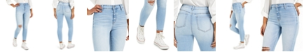 Tinseltown Juniors' Ripped Skinny Jeans