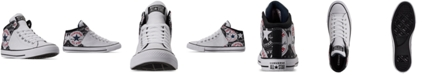 Converse Men's Chuck Taylor All Star High Street Logo Print Mid Casual Sneakers from Finish Line